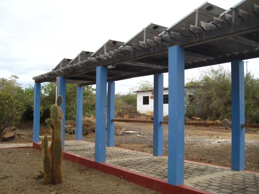 Galapagos Places: Solar Panels © GCT