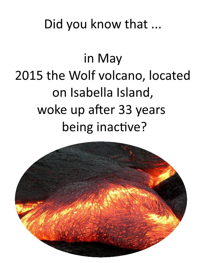 volcano did u know